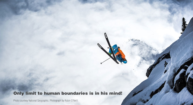 Only limit to human boundaries is in his mind!